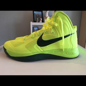 the latest bc985 abd59 Nike Zoom Hyperfuse 2012 Volt Gorge Green Sz 10.5